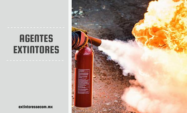 cuales son los agentes extintores - secom